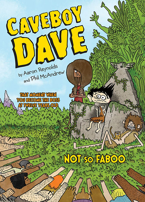 Cover for CAVEBOY DAVE: NOT SO FABOO