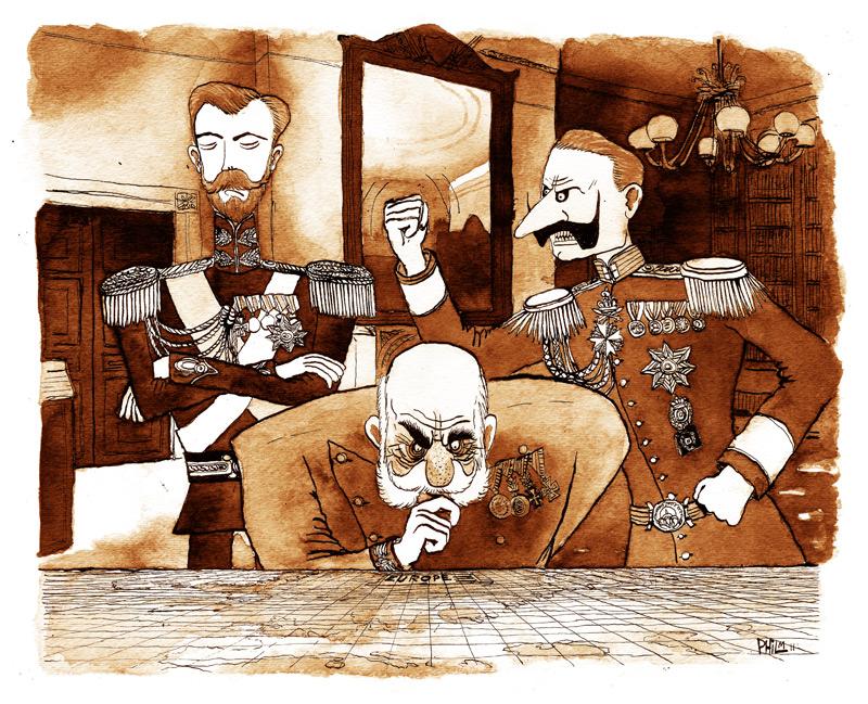 Phil McAndrew Illustrations & Comics